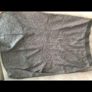 Dresses & Skirts - Addition Elle mermaid grey skirt w/ elastic waist